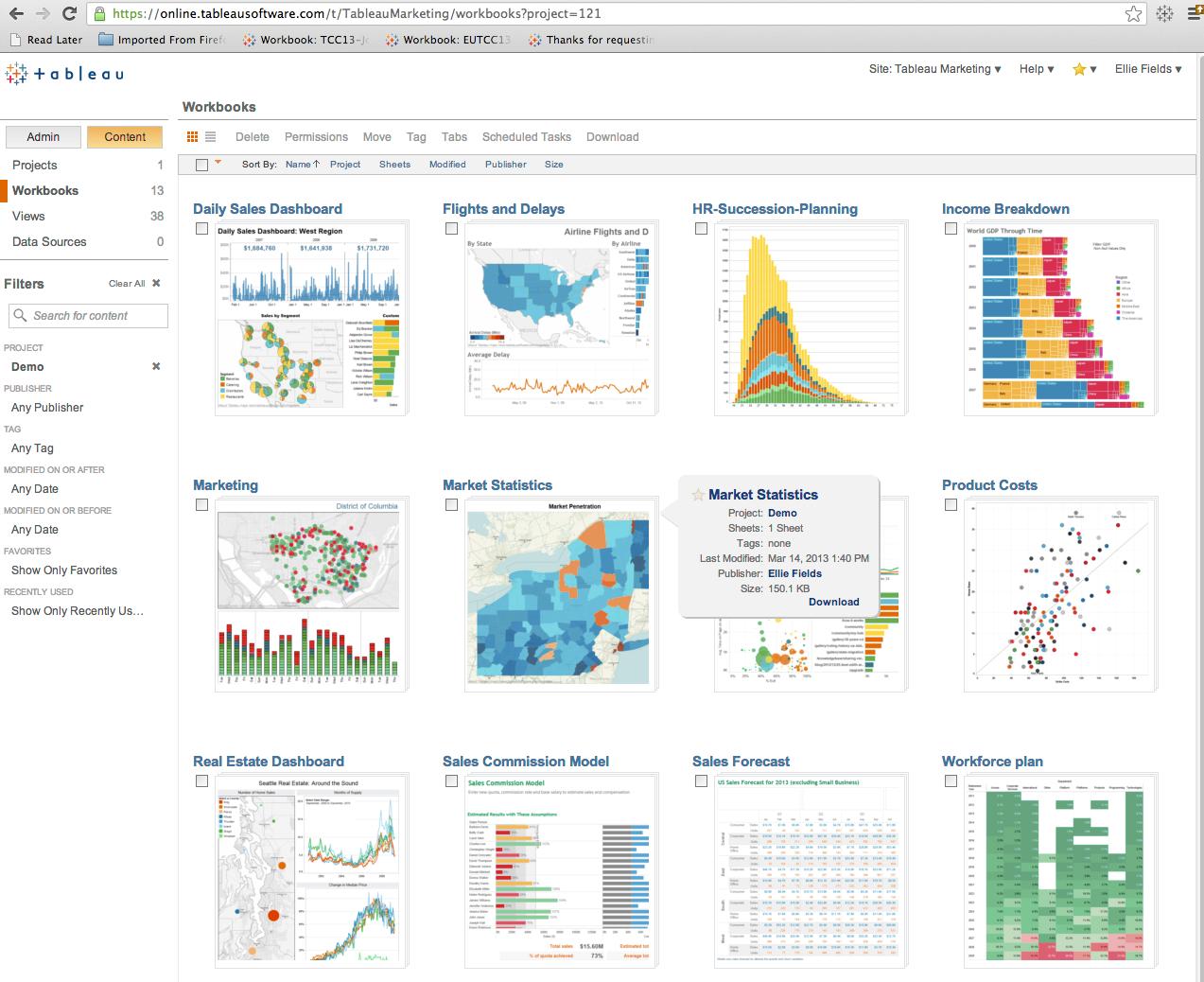 Data Visualization Discover Pivot Explore Drilldown